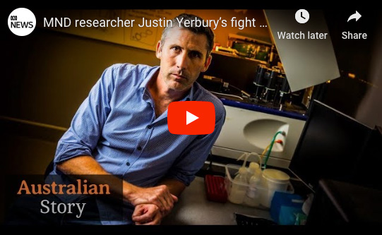 Dr. Justin Yerbury's Inspirational Story to Find a Cure for MND